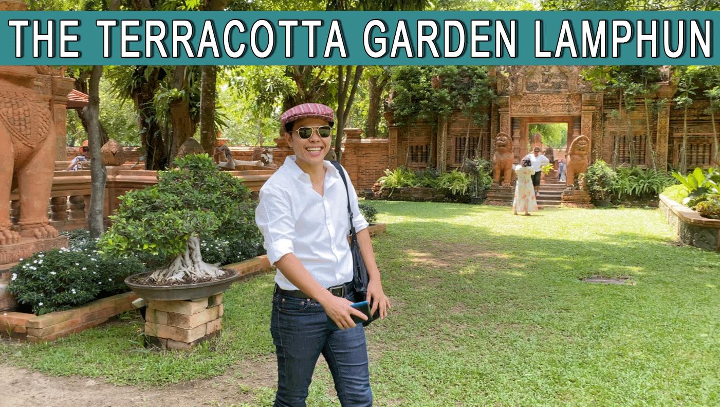 The Terracotta Garden Cafe Lamphun Thailand
